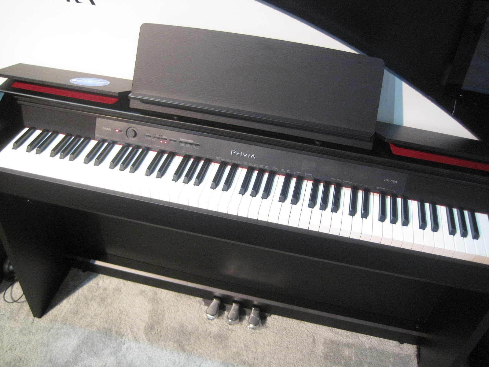 az piano reviews review casio px830 digital piano very nice for the price. Black Bedroom Furniture Sets. Home Design Ideas