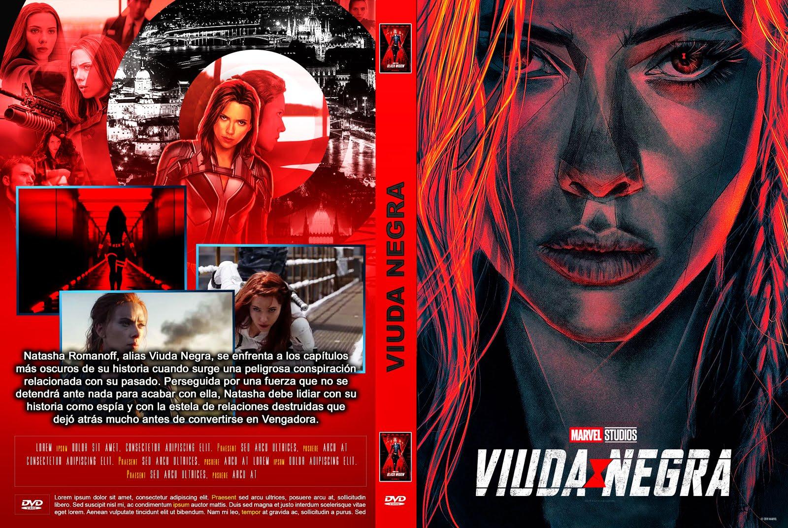 VIUDA NEGRA - Black Widow  by creaciones hd