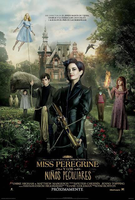 Ver Miss Peregrine's Home for Peculiar Children Online (2016) El hogar de Miss Peregrine para niños peculiares Gratis HD Pelicula Completa