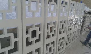مقاول شركة مصنع جي آر سي الكويت مشربيه مشربيات ديكور نوافذ خارجية وداخلية أرابيسك