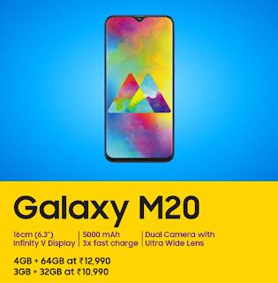 Samsung Galaxy M20 Phone