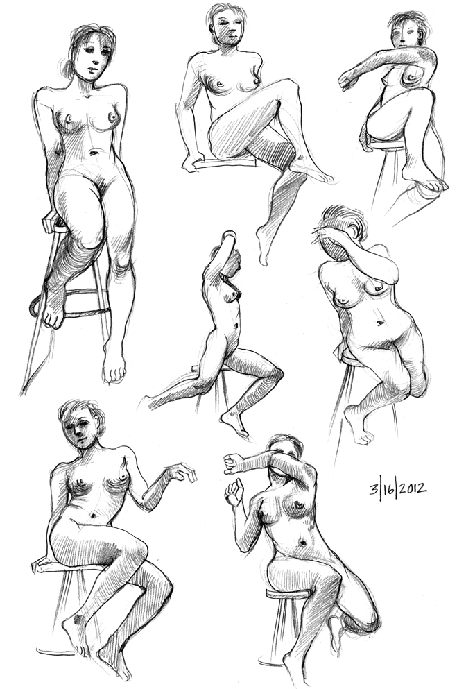 Question curvy girl nude drawing thought differently