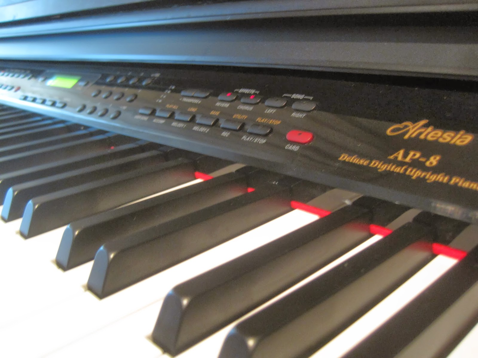 Artesia AP8 digital piano