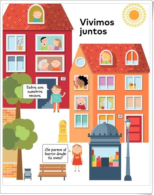 """""""Vivimos juntos. Nuestro barrio"""" (Proyecto de Ciencias Sociales de 1º de Primaria)"""