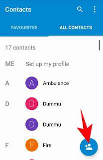 Internet me contact no. save kaise kare 2