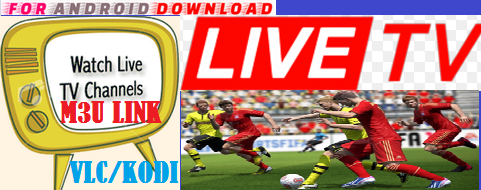 Watch Over 1000+ Live TV Channel ,Sports,Movies on Kodi,Vlc,Xbmc . Daily Update New M3u IPTV Link For User Can Watch World Live TV Channel For Free But This Type of M3u Link Vaild for 1 Day.