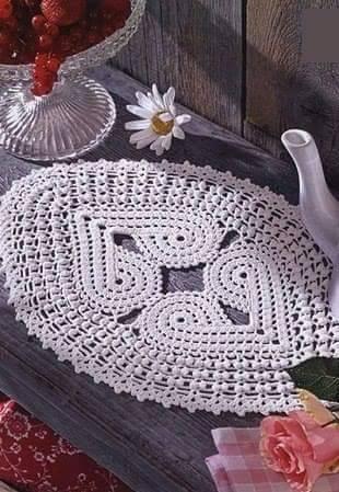 Patrón #1328: Tapete a Crochet