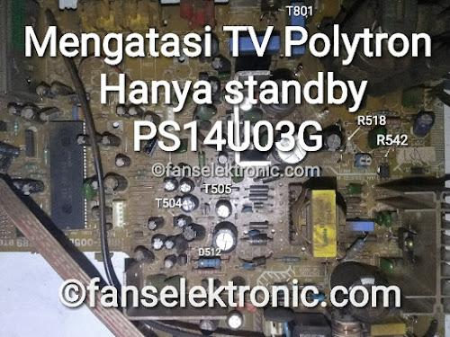 TV Polytron Hanya Standby PS14U03G