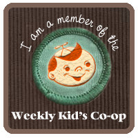 weekly kids co-op button