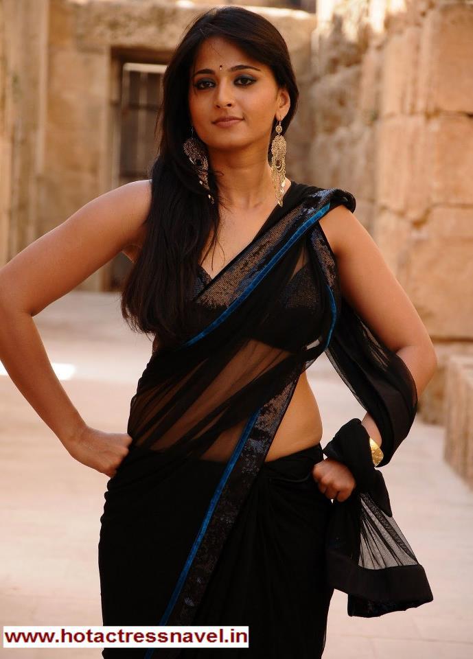 Hot Indian Navel Anushka Shetty Hot And Sexy Photos-8513
