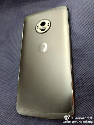 Moto G5 Plus Rear Panel leaks