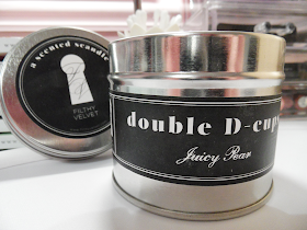 FILTHY VELVET: SCANDLES WITH ATTITUDE Candles Eyelinerflicks