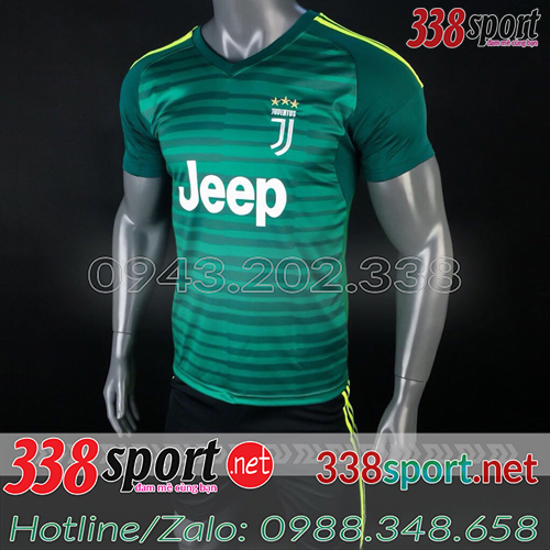 Áo Juventus Xanh  2018 2019 Training 3