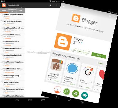 Aplikasi Untuk Blogger rekomendasi Google