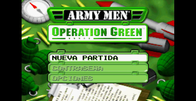 Army Men - Operation green - Español - Captura 2