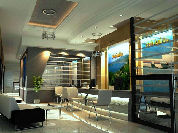 travel agent office interior design