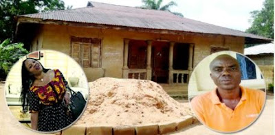 See Family House Where Evans' Wife Lived Before She Got Married (Photo)