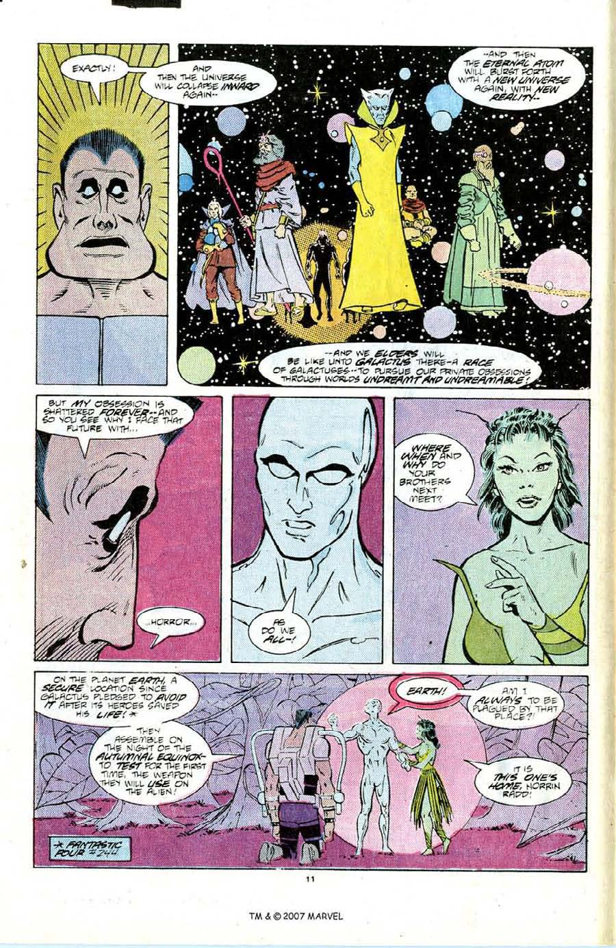 Read online Silver Surfer (1987) comic -  Issue #6 - 16