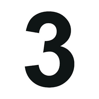 cyfra 3 do druku