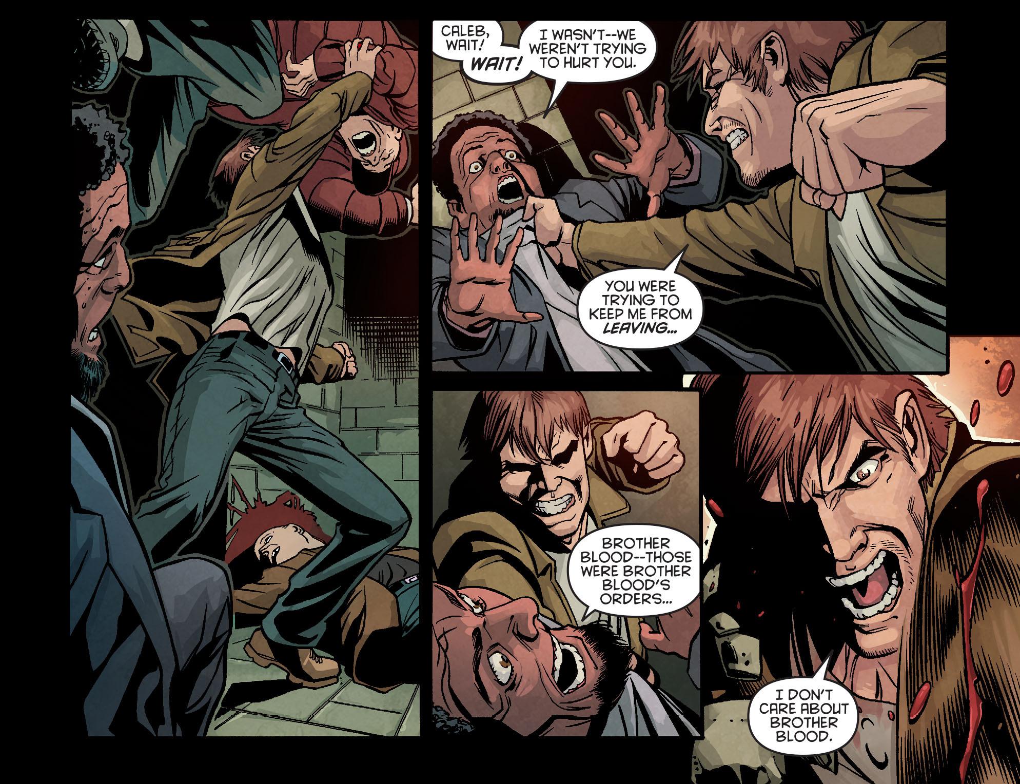 Read online Arrow: Season 2.5 [I] comic -  Issue #9 - 18