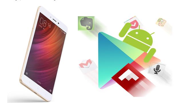 Cara Instal Google Play di Xiaomi Redmi Note 4