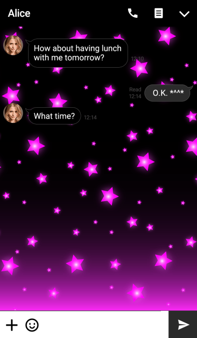 - SIMPLE STAR THEME PINK -