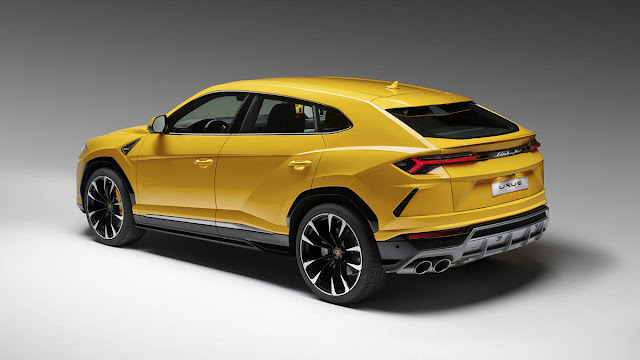 parte trasera Lamborghini Urus