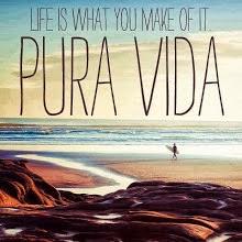 Für ein Jahr Pura Vida: Schöne Sprüche und Bilder