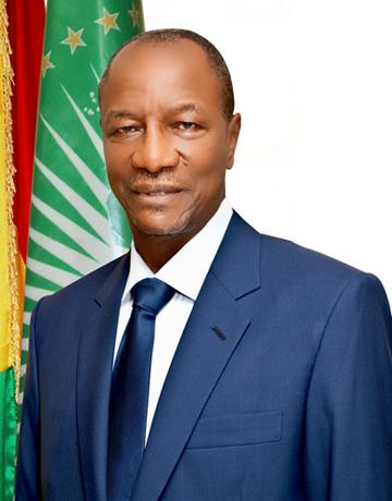 Lundi, 5 février 2018: Allocution du Président de la République de Guinée, le Professeur Alpha Condé