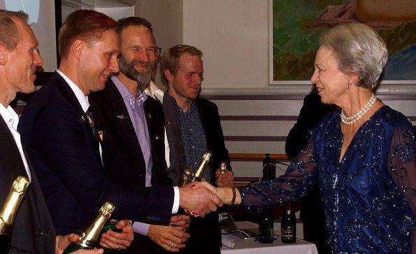 Princess Benedikte attended Danish Association for Rosports 2018 Award Night