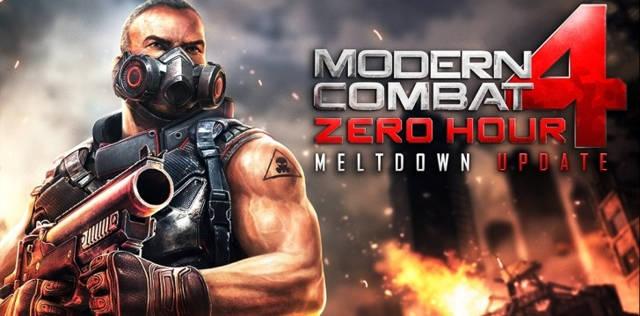 Modern Combat 4: Zero Hour Android 1.2.2e Full Español