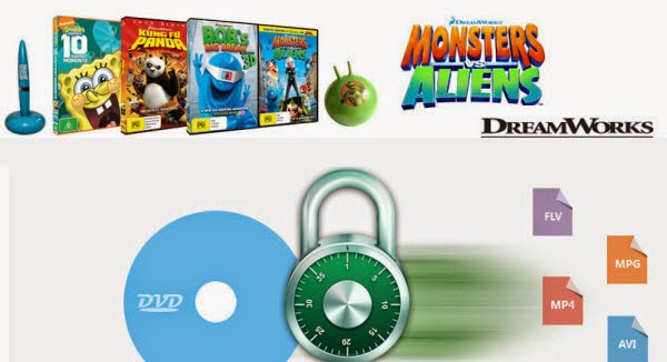 Copy/Convert Disney DVD movies for watching