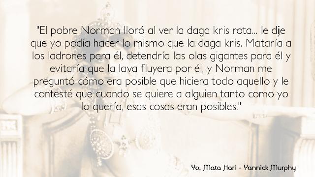 Yo, Mata Hari - Yannick Murphy