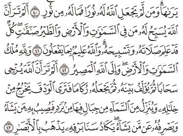 Tafsir Surat An-Nur Ayat 41, 42, 43