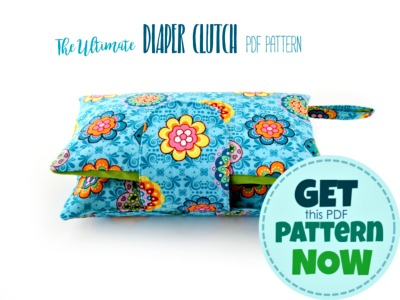 ultimate diaper clutch pattern