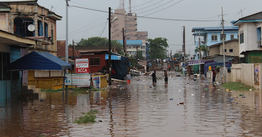 The Perennial Floods In Accra