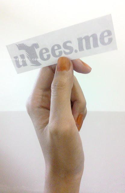 Stiker Utess.me - Vindy Putri