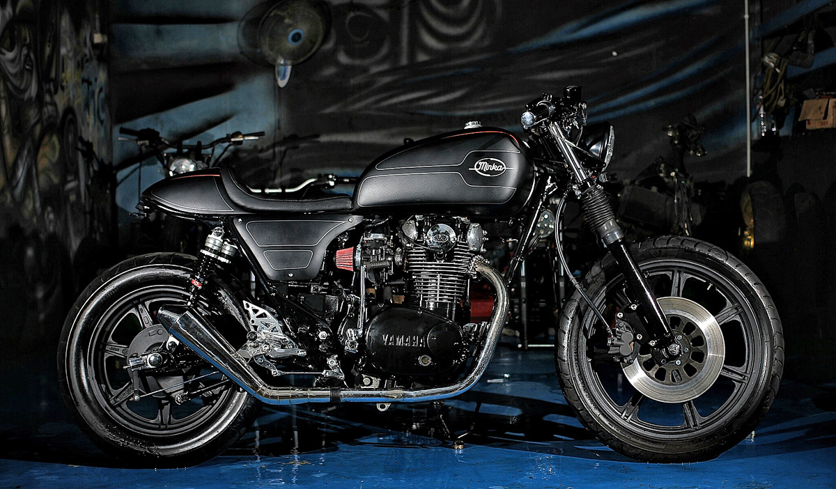 the minka - yamaha xs650 cafe racer ~ return of the cafe racers