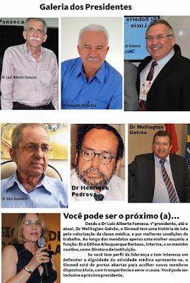 O Sinmed  de Alagoas e seus presidentes