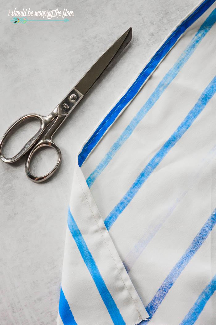 Sewing Drapery Panels