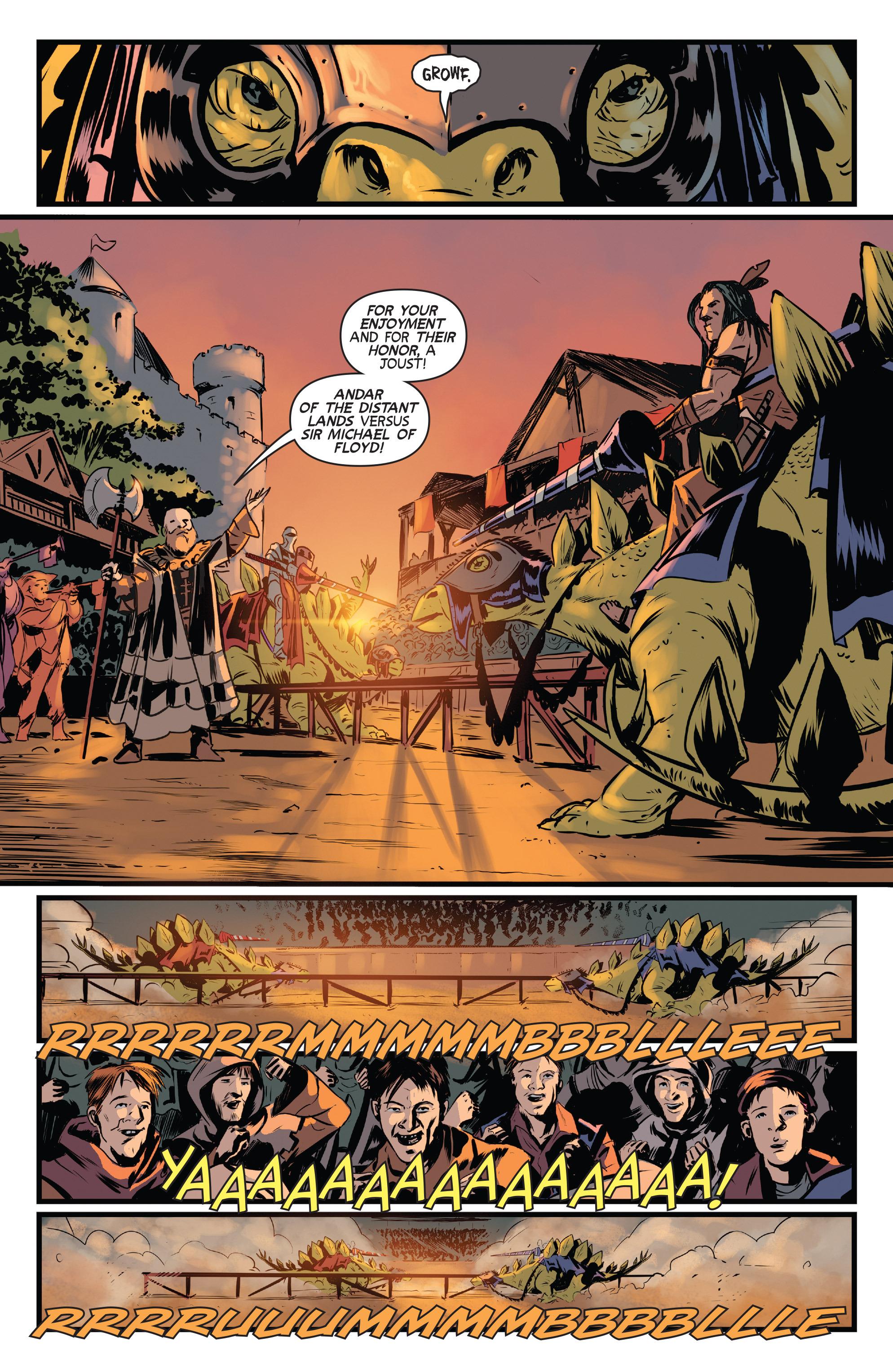 Read online Turok: Dinosaur Hunter (2014) comic -  Issue # _TPB 3 - 36