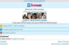 Flirtomatic: chat en español gratis. La aplicación se puede descargar gratuitamente