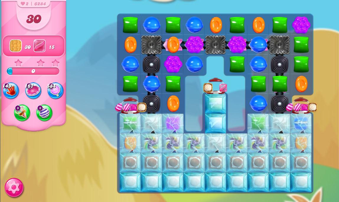 Candy Crush Saga level 6284