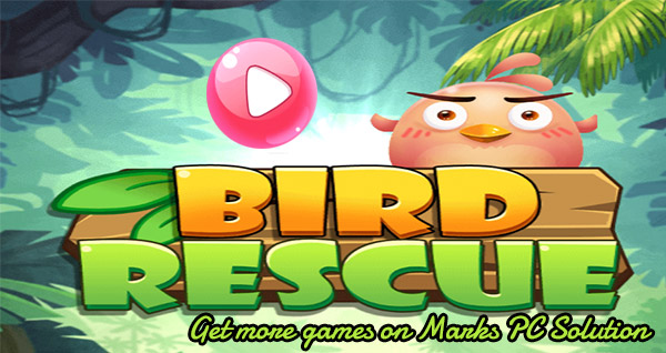Shoot bubble and rescue bird