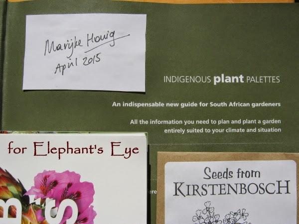 Indigenous plant palettes by Marijke Honig