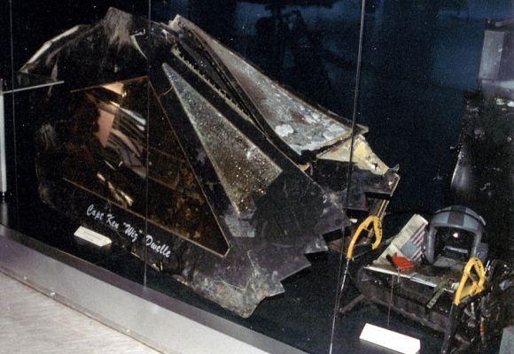F-117 di Museum Dirgantara Belgrad