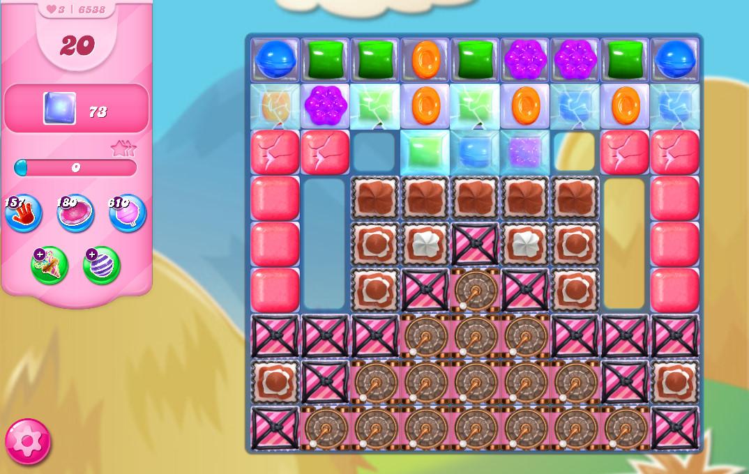 Candy Crush Saga level 6538