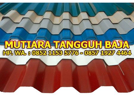 Distributor Atap Spandek Warna Bekasi Termurah