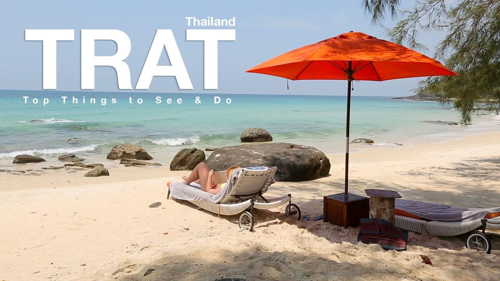 Vị trí địa lý vùng Đông Bắc Thái Lan như Trat