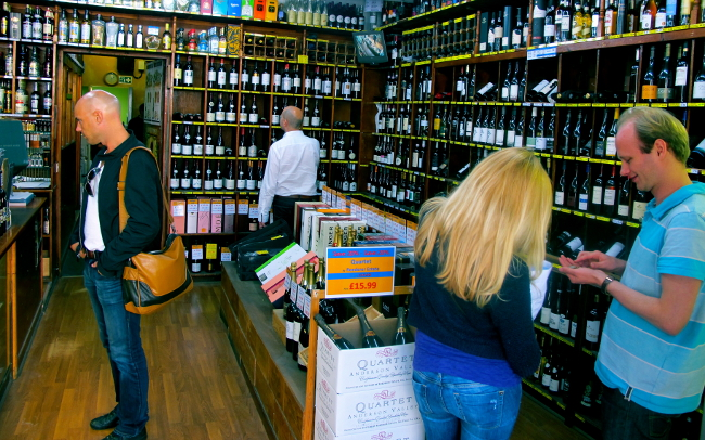 Soho Wine Supply : A Cornucopia of Booze